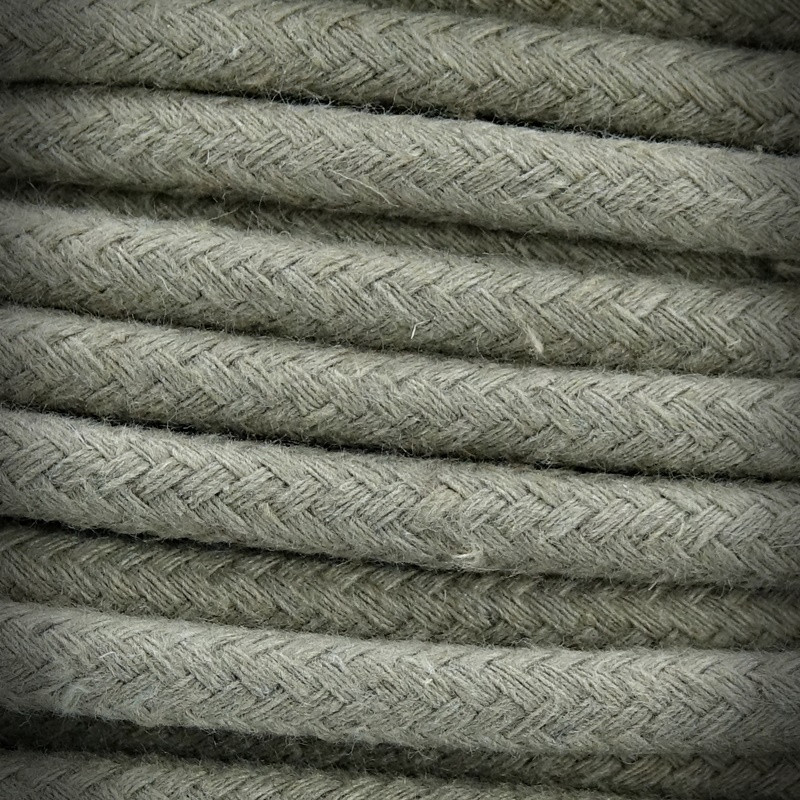 Cable, Electric Wire Cotton Braided 3x0.75 B01