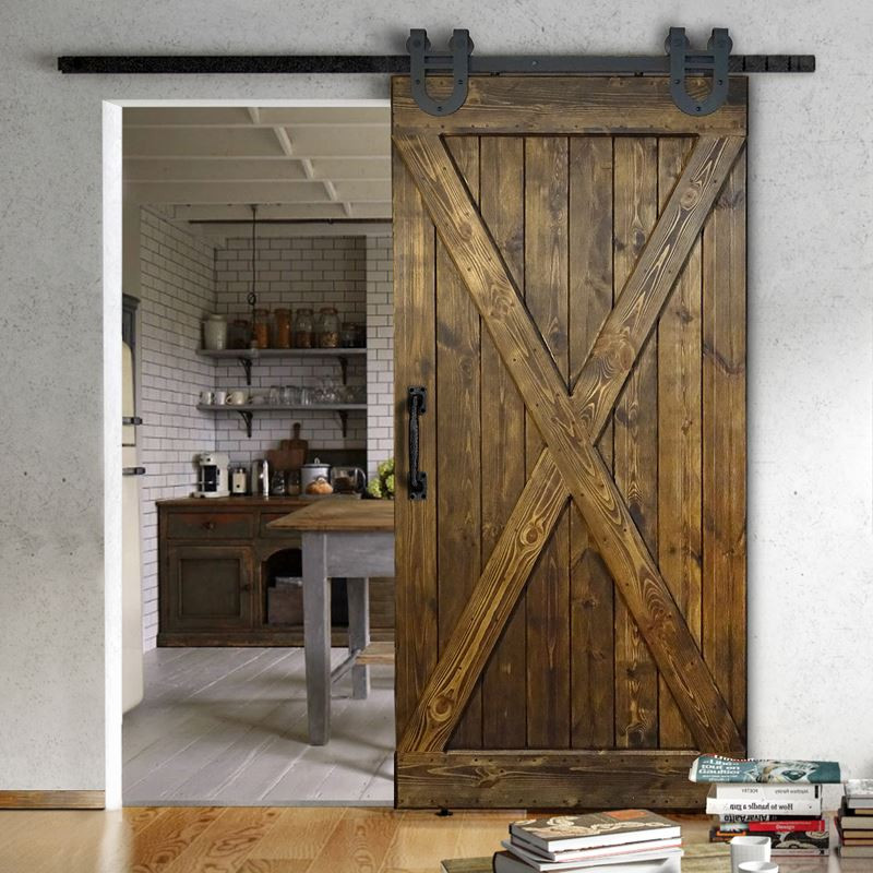 Wooden Door For Sliding Systems - X type