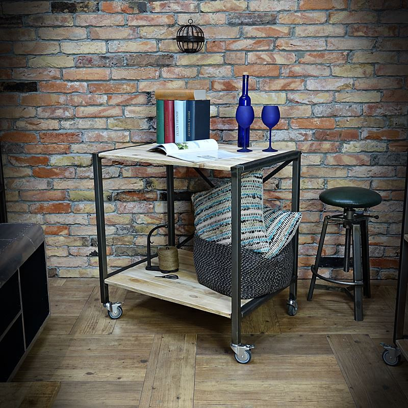 Racking, table, desk, industrial island IRON 80x85