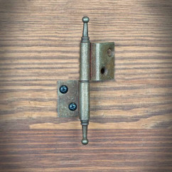 Furniture hinge RUSTYK right angle