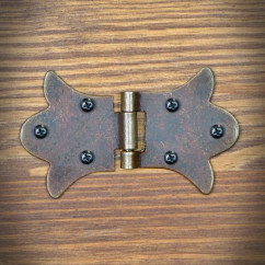 Furniture hinge RUSTYK 85mm x 52mm