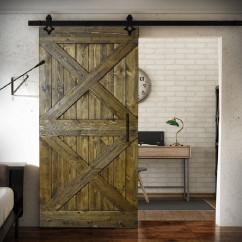 Wooden Sliding Door FOREST - 2X