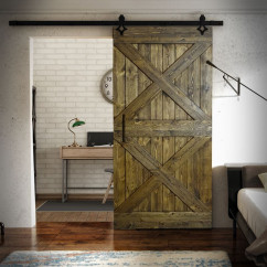 Wooden Door For Sliding Systems - 2X