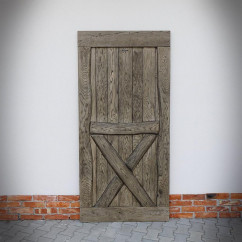 Retro, Oak sliding door BARN