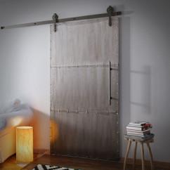 Sliding Metal Door INDUSTRIAL
