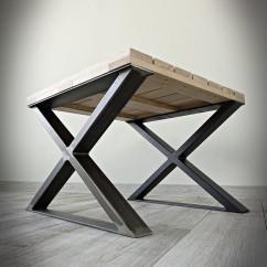 Industrial X Leg Low (60x40cm)