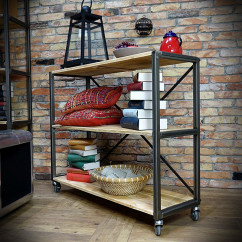 IRON 120x100 Industrial shelf unit/Shelf racking