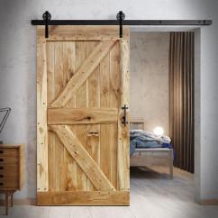 Oak Sliding Door FLINSTON WITH NAILS
