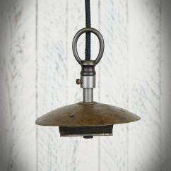 uchwyt metalowy lampy