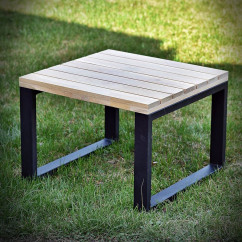 Oak tabletop WERANDA 60x60 cm