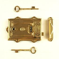 Door lock MASSIVE 180mm universal