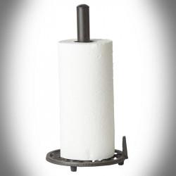 Cast iron paper towel rack