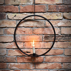 Round Hanging Candle Holder ALEX