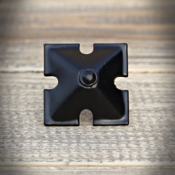 Furniture pins, studs PYRAMID with cut