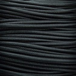 Wire, Electrical Cable Polyester Braided 3x0,75 Black