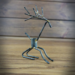 Candle Holder JELEN With Antlers