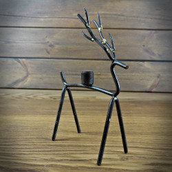 Candle holder wired Deer