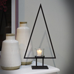 Steel Candle Holder TRIO