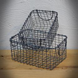 A set of metal NAOMI baskets