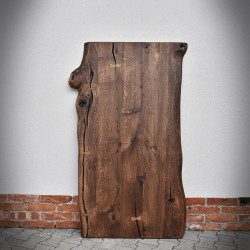 Oak Tabletop RUSTWOOD 80,90x120-200 cm