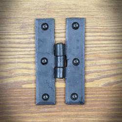Furniture hinge TYPE H black