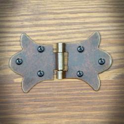 Furniture hinge RUSTYK 85mm x 52mm