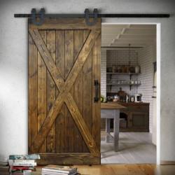 Wooden Sliding Door FOREST - X type