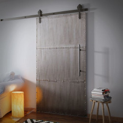 Sliding Metal Door INDUSTRIAL