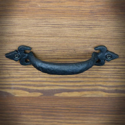 Furniture handle RICHMOND 120mm black