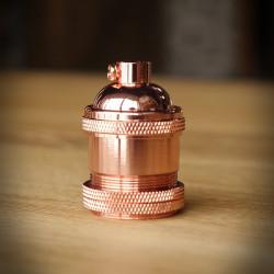 Bulb Holder VINTAGE - Copper