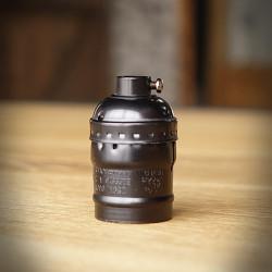 Bulb Holder Old - Black