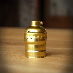 Bulb Holder Old Gold