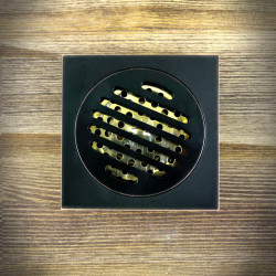Shower Drain Grate 100x100 mm