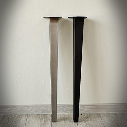 steel table leg retro