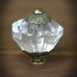 Furniture knob OLD GLASS