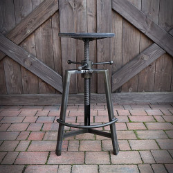 Bar Stool INDUSTRIAL Hard