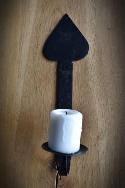 Hand-made candlestick