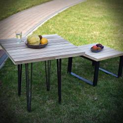 Oak tabletop WERANDA 40x40 cm