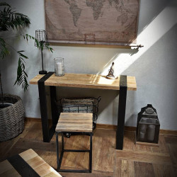 stolik konsolka vintage