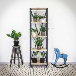 Industrial racking shelf/shelve unit IRON 60x195