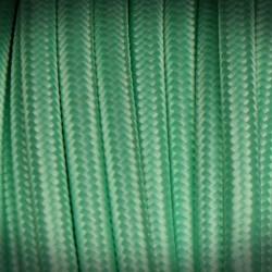 pistachio cable braided