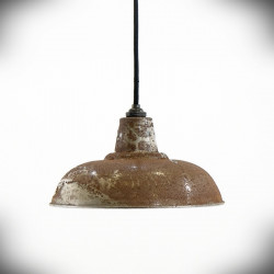 rusty lampshade