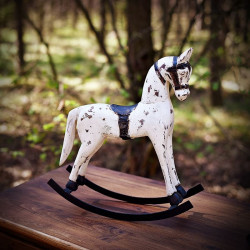 Wooden rocking horse S