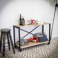 Racking,coffee table, industrial bracket IRON 120x75