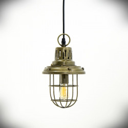 E14 Pendant Light NIGHT KLARA Antique Gold
