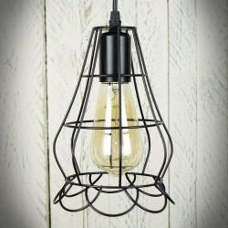 Lampa sufitowa z drutu LOLA