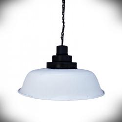E27 Pendant Light ALURO LOFT White