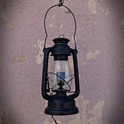 Retro Standing Or Hanging Lamp Oil Style