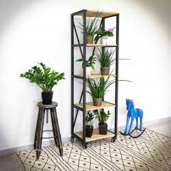 Industrial racking shelf/shelve unit IRON 60x195