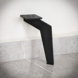 noga czarna stalowa